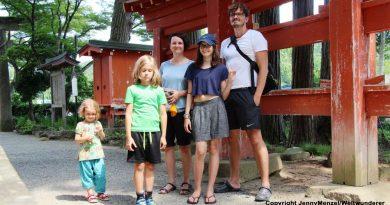 Jenny Menzel • Japan mit drei Kindern per Van | Dresden, 22.01.2019